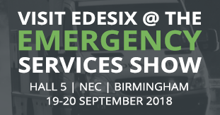 Edesix exhibiting at Emergency Services Show 2018