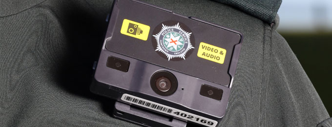 Belfast City Policing District introduce Body Worn Video Cameras